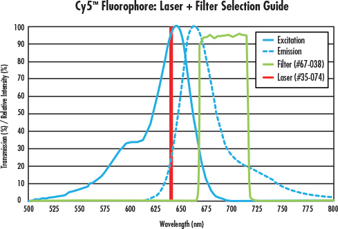 fig 6 Fluorescence Imaging with Laser Illumination