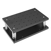 200 x 120mm Fixed Height Adjustment Plate Set