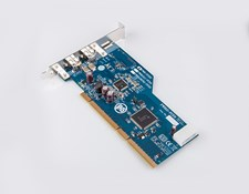 Firewire.b Host Adapter, PCI-eXtended 32/64-bit card 2 Ports