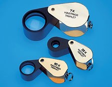 7X Hastings Triplet, Mounted Magnifier